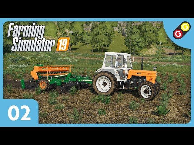 Farming Simulator 19 #02 On sème et on récolte notre premier champ ! [FR]
