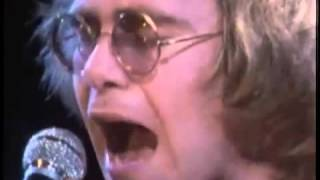 Elton John - Sixty Years On, 1971 (rare live clip)