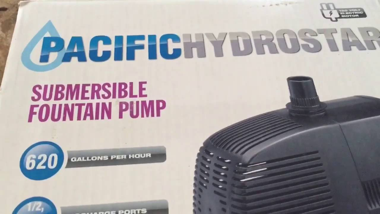 Review on the Pacific Hydrostar water pump from Harbor Freight