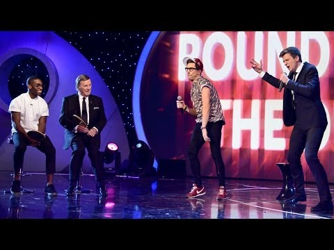 Greg James and Russell Kane lip sync to R.I.P. by Rita Ora - BBC Children in Need: 2013 - BBC