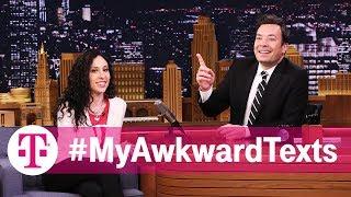 Jimmy Fallon Reads #MyAwkwardTexts: Breakup Edition | T-Mobile