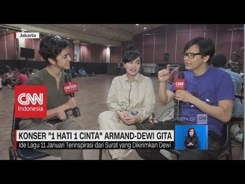 "Menuju Konser ""1 Hati 1 Cinta Armand-Dewi Gita"" Mp3"