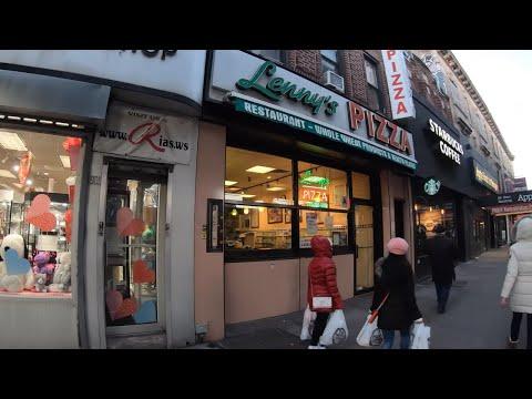 ⁴ᴷ⁶⁰ Walking NYC (Narrated) : 86th St, Bensonhurst, Brooklyn From 18th Ave To L\u0026B Spumoni Gardens