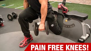 Knee Exercises for Pain Free Leg Workouts (NO MORE PAIN!)