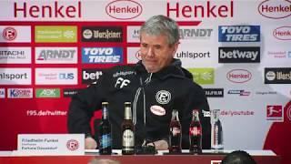 Fortuna Düsseldorf vs. FC Bayern 1:4 | F95-Pressekonferenz | 2018/19 | PK nach #F95FCB