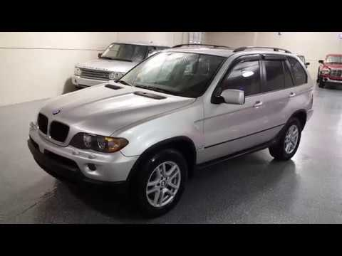 2005 Titanium Silver Metallic /Black leather BMW X5 3.0i (5UXFA13575L) with an 3.0L L6 DOHC 24V engine, Automatic transmission, located at 603 Amelia Street, Plymouth, MI, 48170, (734) 459-5520, 42.378841, -83.464546 - Photo #0