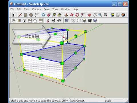 Architectionary sketchup mirror tutorial intermediate for Mirror in sketchup