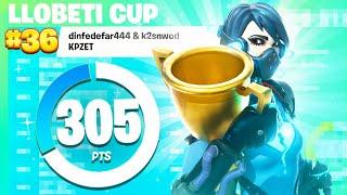 36. plads Llobeti cup semis | Bedste underrated trio i DK? (Fortnite Tournament Highlights) | fex