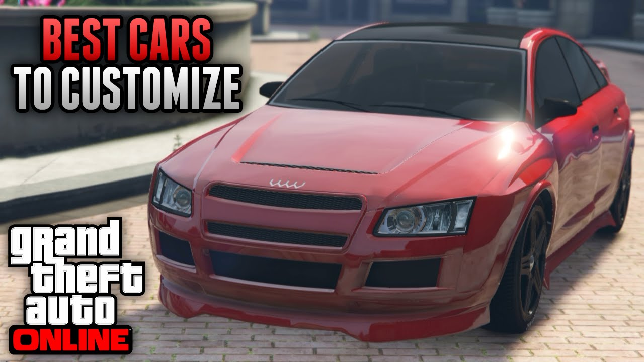Best Customizable Cars Gta