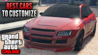 GTA 5 Online - Best Cars To Customize in GTA 5 Online! Rare & Secret Cars & Customization