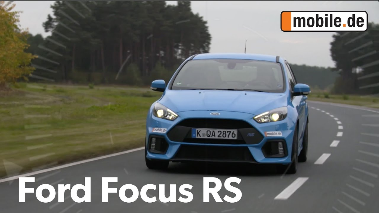 auto test ford focus rs dyb ab 2016 youtube. Black Bedroom Furniture Sets. Home Design Ideas
