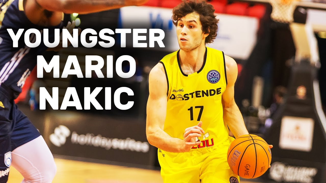 Huge talent Mario Nakic shows his skills for Filou Oostende!