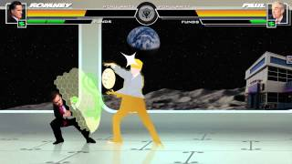 Political Kombat '12: Romney Vs. Gingrich and Ron Paul
