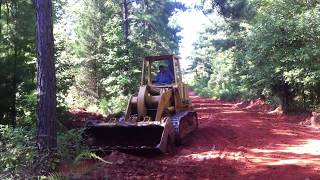 Cat 953 Grading A Road Dirty $outh Style