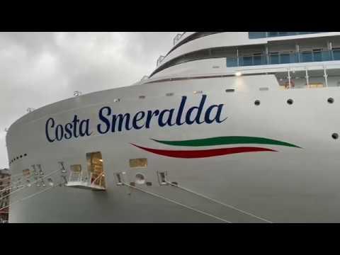 Cruise Ship Costa Smeralda Cabins Tour 4K