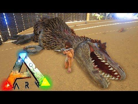 ARK PS4 COMO TAMEAR YUTYRANNUS TUTORIAL ESPAÑOL   ARK SURVIVAL EVOLVED PS4/XBOX