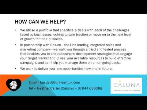 The Business Development Experts – Lead Generation, Marketing, Increase Sales