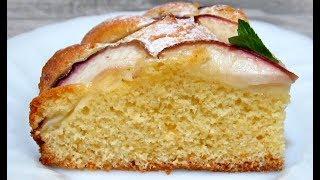 #ПИРОГ с Нектаринами (Персиками) Нежный и Очень Вкусный ПИРОГ Простой #Рецепт