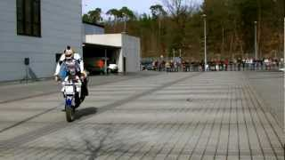 16 mrz 2013 chris pfeiffer stuntriding bmw motorrad zentrum rhein main