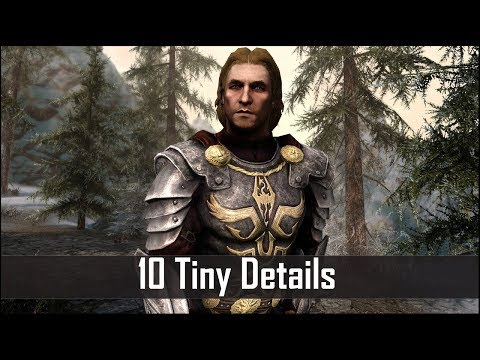 Skyrim: Yet Another 10 Tiny Details That You May Still Have Missed in The Elder Scrolls 5 (Part 38)