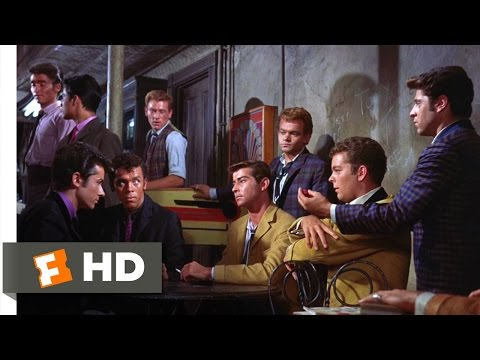 West Side Story 610 Movie   Challenge to a Rumble 1961 HD