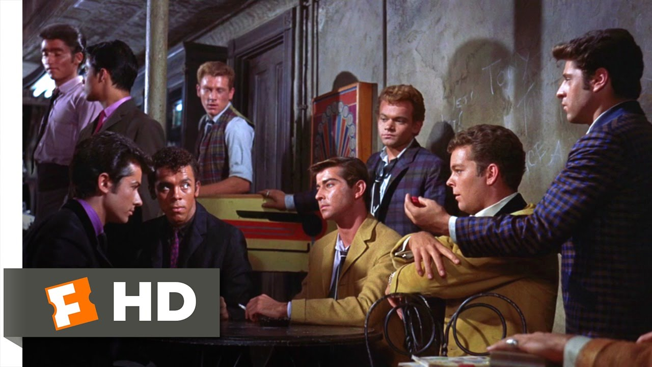 West Side Story (6/10) Movie CLIP - Challenge to a Rumble