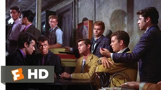 West Side Story (6/10) Movie CLIP - Challenge to a Rumble (1961) HD
