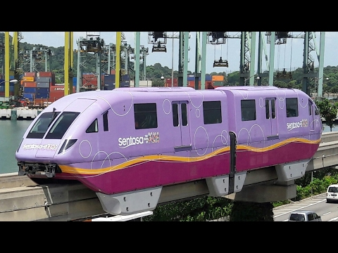 Sentosa Express Ride (Pink Color)