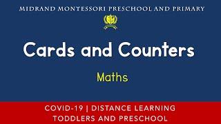 Montessori Mathematics Presentation - Cards and Counters