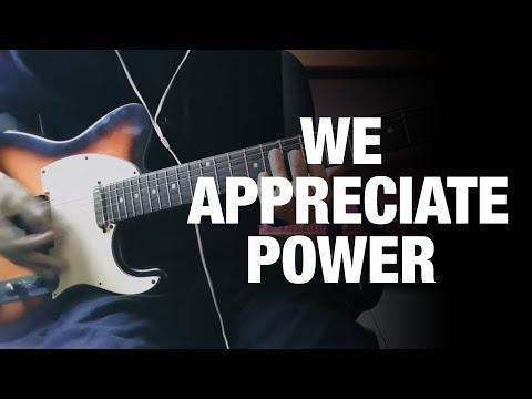 Grimes; HANA - We Appreciate Power (Guitar Cover)