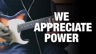 Grimes; HANA - We Appreciate Power (Guitar Cover) Video