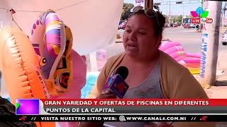 Nicaragua: Gran variedad y oferta de piscinas en diferentes puntos de la capital