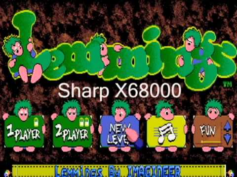 Lemmings - Tim 4 Every Version From Every Port