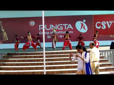 Group dance for RCET College