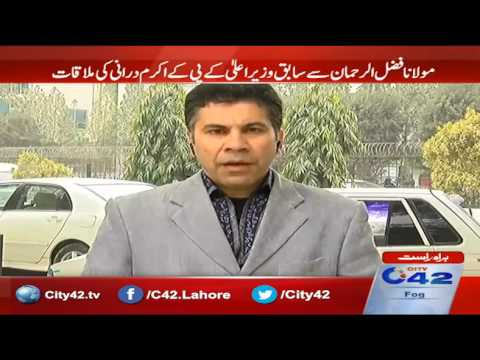 EX chief minister KPK Akram Durrani mets Maulana Fazal ur Rehman