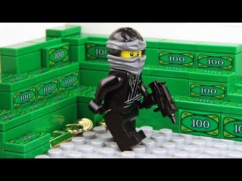 Lego Bank Robbery - The Ninja Game thumbnail