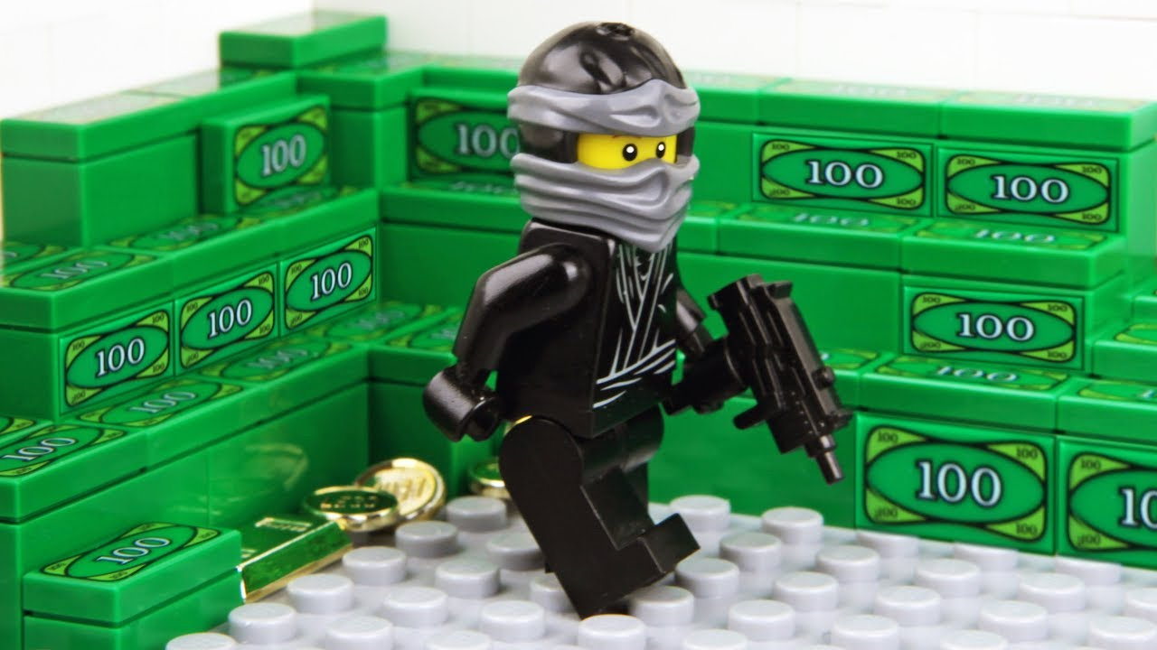Lego Bank Robbery – The Ninja Game