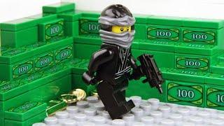 Lego Bank Robbery - The Ninja Game