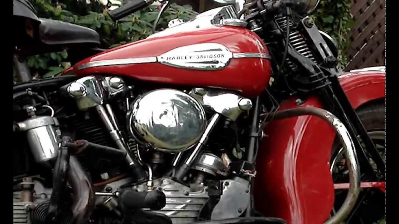 Harley Davidson: Harley-Davidson Knucklehead 1941 Part 1
