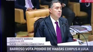 Baixar VOTO DO MINISTRO BARROSO CONTRA O HC DE LULA