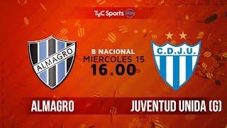 Almagro vs Juv.Unida Gualeguaychu full match