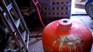 Gas Bottle Bbq And Wood Burning Stove Part 1