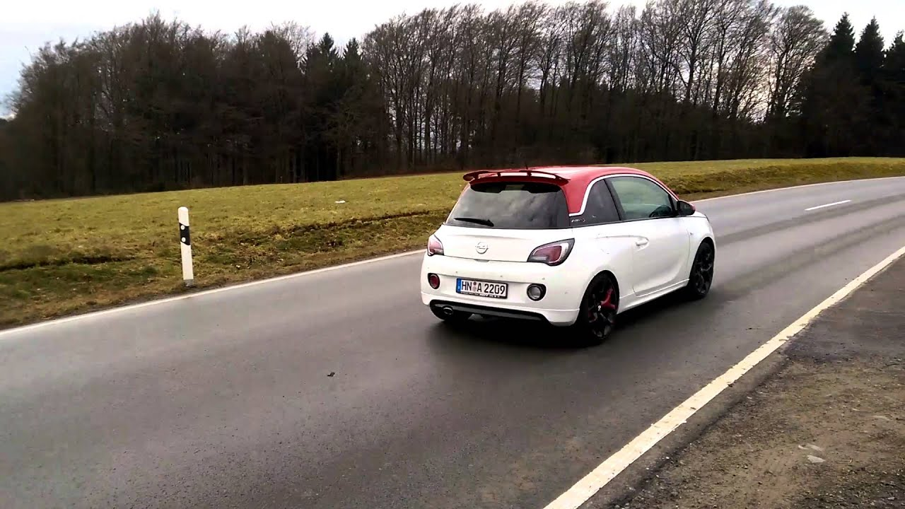 Sportauspuff Opel Adam S 14l Turbo By Asg Sound