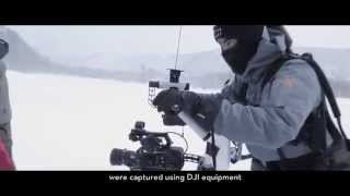 Съемка на квадрокоптер зимой, в минус 45