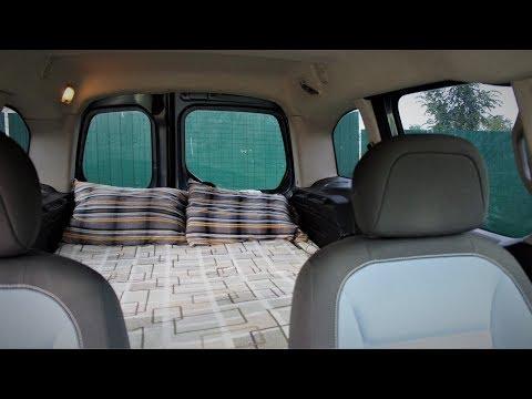Кровать в Пежо Партнер Типи / Bed In Peugeot Partner Tepee