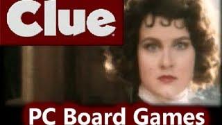 Clue : PC Board Games