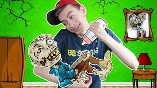 ЗОМБИ ПИТОМЕЦ УХАЖИВАЕМ С СОФИЕЙ ЗА Zombie Gotchi НА КАНАЛЕ GAMES FACTORY