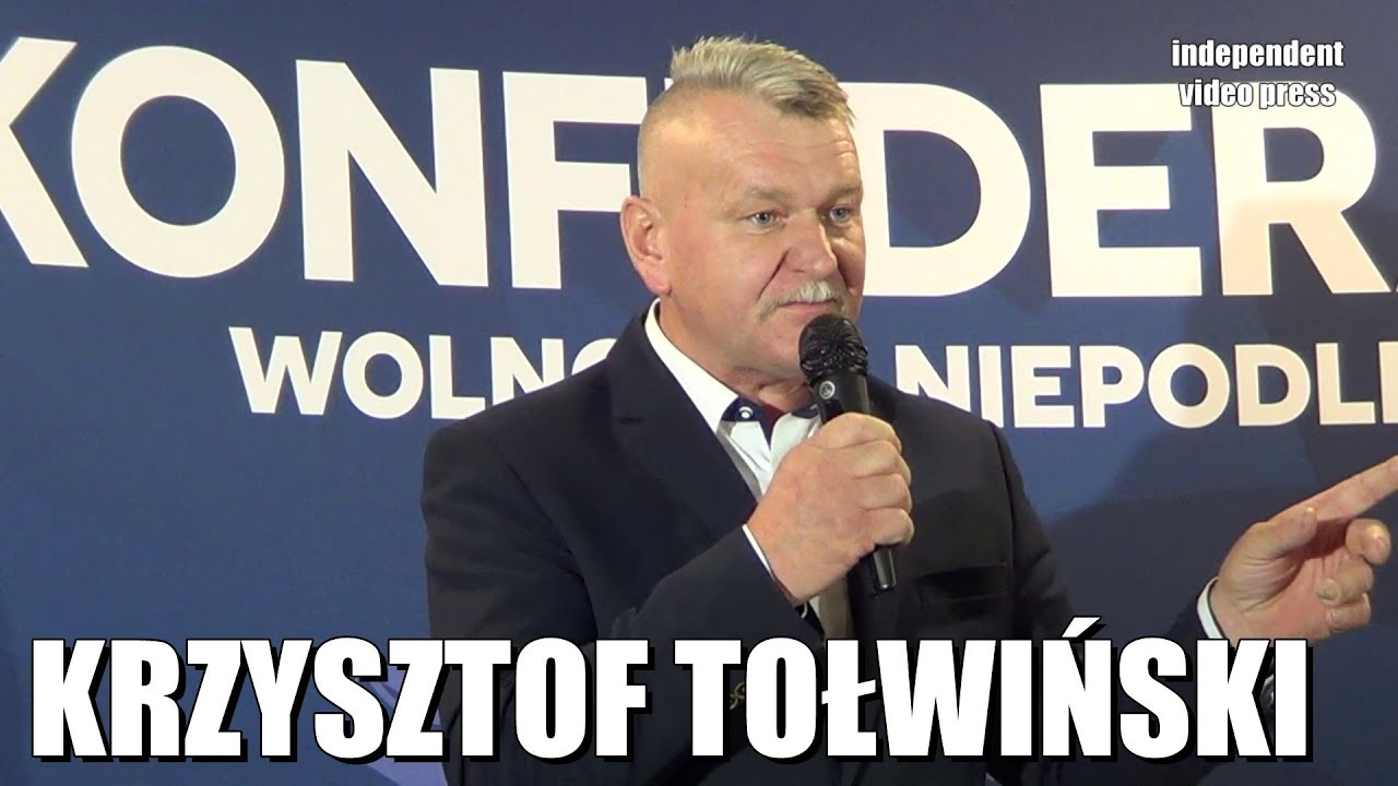 Rolnicy popierają Konfederację! - Krzysztof Tołwiński (Konfederacja)