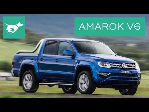 2016 Volkswagen Amarok Aventura Ravennablau V6 - Drive and