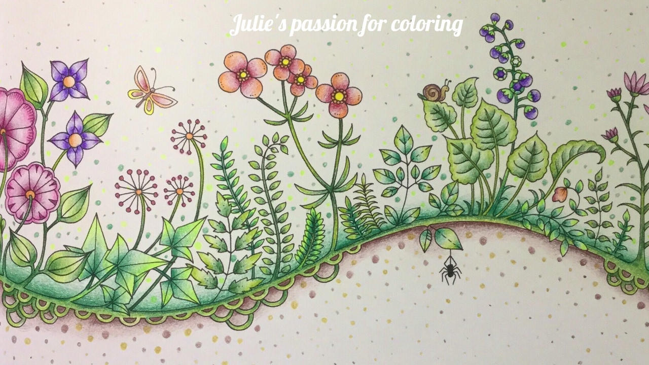 Fall Exclusive — © Johanna Basford Canon coloring pages | Johanna ... | 720x1280